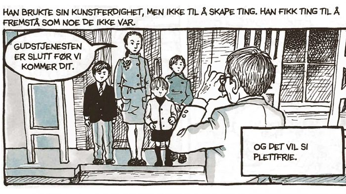 Alison Bechdel - Husfred