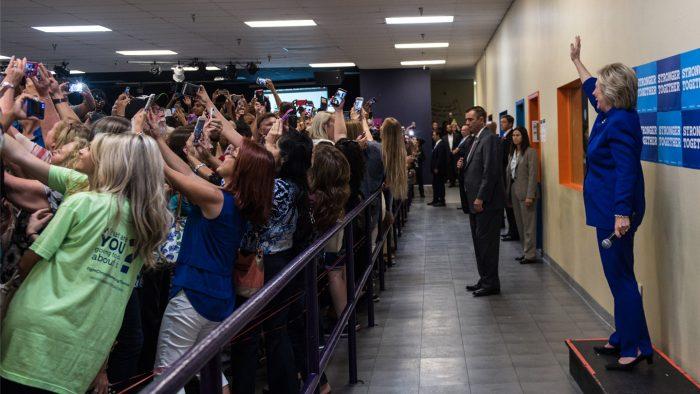 Hillary-for-America- Barbara-Kinney-Universitetsforlaget