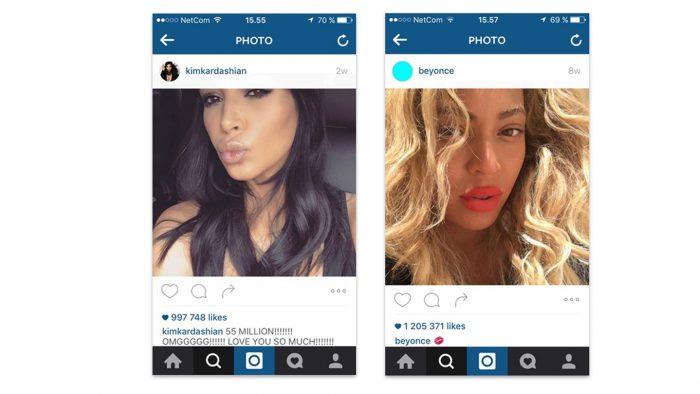 Kardashian og Beyonce - Selfie - Universitetsforlaget