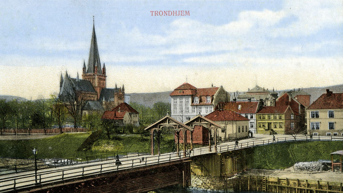 Midtbyen-Trondheim-Tord-Talmo-Universitetsforlaget