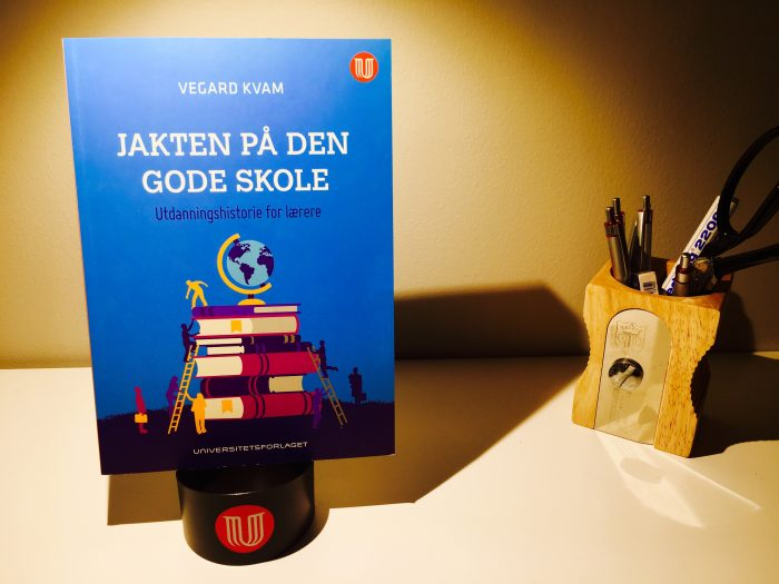 Bok-Vegard-Kvam-Jakten-på-den-gode-skole.-Universitetsforlaget