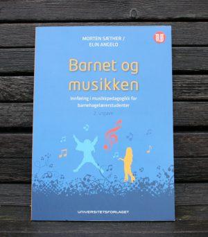 barnet og musikken benk_Angelo og Sæther_Universitetsforlaget