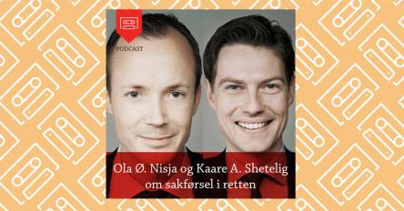 4e92bb88 Ola Ø. Nisja og Kaare A. Shetelig om sakførsel i retten